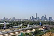 Tel Aviv, Israel Skyline as seen from north