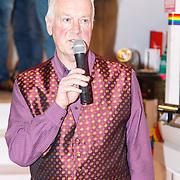 NLD/Amsterdam/20150326 - Boekpresentatie de Roze Moorden, zanger en tekstschrijver Cees Walraven