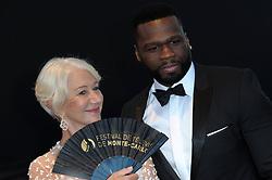 June 21, 2017 - Monte Carlo, Monaco - 6/20/17.Helen Mirren and Curtis Jackson (50 Cent) at the closing ceremony of The 57th Monte Carlo TV Festival in Monaco. (Credit Image: © Starmax/Newscom via ZUMA Press)