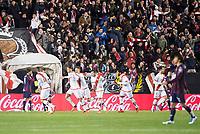 Rayo Vallecano's Ze Castro celebrate a goal during La Liga match. March 12,2016. (ALTERPHOTOS/Borja B.Hojas)