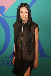 Vera Wang attending the 2017 CFDA Awards, hosted by Swarovski, held at the Hammerstein Ballroom in New York