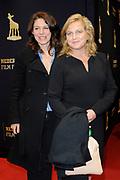 Premiere van The Domino Effect op het Nederlands Film Festival in Utrecht.<br /> <br /> Op de foto:<br /> <br />  Rifka Lodeizen en Anneke Blok