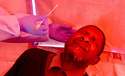South Africa - Pretoria - 10 July 2020 - City of Tshwane's health services embarks on a screening and testing campain at Ga-Rankuwa Shopping Centre.<br /> Picture: Oupa Mokoena/African News Agency (ANA)