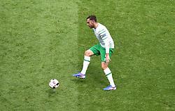 Richard Keogh of Republic of Ireland  - Mandatory by-line: Joe Meredith/JMP - 26/06/2016 - FOOTBALL - Stade de Lyon - Lyon, France - France v Republic of Ireland - UEFA European Championship Round of 16