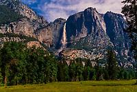 Upper Yosemite Fall, Yosemite National Park, California USA.