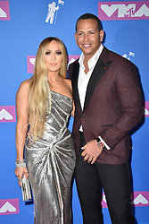 Jennifer Lopez and Alex Rodriguez attend the 2018 MTV Video Music Awards at Radio City Music Hall on August 20, 2018 in New York City. Photo by Lionel Hahn/ABACAPRESS.COM