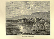 Hierapolis, Near Laodicea From the book ' The seven golden candlesticks ' by Tristram, H. B. (Henry Baker), 1822-1906 Published by The Religious tract society [London] in 1871