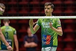 Markus Held of Orion in action during the league match between Active Living Orion vs. Amysoft Lycurgus on March 20, 2021 in Doetinchem.