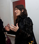BELLA FREUD, The  launch of Johnnie Shand Kydd's book Siren City. ( Photographs of Naples) Claire<br /> de Rouen books published  by Other Criteria. Charing Cross Rd. London. 30 November 2009
