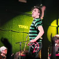 Nederland,Utrecht ,17 januari 2008..Optreden van de Nederlandse band C-Mon en kypski in concertzaal Tivoli.