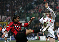 AC MILAN  v MANCHESTER UNITED CHAMPIONS LEAGUE 08/03/2005<br />