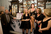 CLEMENT FREUD; IMOGEN EDWARDS-JONES; KATHY LETTE, JESSICA ADAMS; MAGGIE ALDERSON. Book party; Jessica Adams, Maggie Alderson, Imogen Edwards-Jones and Kathy Lette host the launch of 'In Bed With.' Artesian, The Langham, Portland Place. London. 11 February 2009 *** Local Caption *** -DO NOT ARCHIVE-© Copyright Photograph by Dafydd Jones. 248 Clapham Rd. London SW9 0PZ. Tel 0207 820 0771. www.dafjones.com.<br /> CLEMENT FREUD; IMOGEN EDWARDS-JONES; KATHY LETTE, JESSICA ADAMS; MAGGIE ALDERSON. Book party; Jessica Adams, Maggie Alderson, Imogen Edwards-Jones and Kathy Lette host the launch of 'In Bed With.' Artesian, The Langham, Portland Place. London. 11 February 2009
