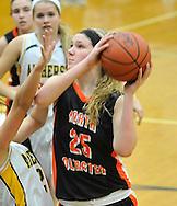 Amherst vs North Olmsted girls varsity basketball on February 20, 2012 at Elyria Catholic High School.