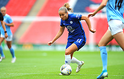 Guro Reiten of Chelsea Women in action - Mandatory by-line: Nizaam Jones/JMP - 29/08/2020 - FOOTBALL - Wembley Stadium - London, England - Chelsea v Manchester City - FA Women's Community Shield