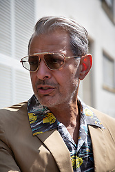 Jeff Goldblum arrives to the Casino dock during the 75th Venice International Film Festival (Mostra) in Lido, Venice, Italy on August 30, 2018. Photo by Marco Piovanotto/ABACAPRESS.COM