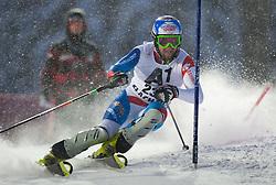 21.12.2011, Hermann Maier Weltcup Strecke, Flachau, AUT, FIS Weltcup Ski Alpin, Herren, Slalom 1. Durchgang, im Bild Markus Vogel (SUI) in Aktion // Markus Vogel of Suisse in action during Slalom race 1st run of FIS Ski Alpine World Cup at 'Hermann Maier World Cup' course in Flachau, Austria on 2011/12/21. EXPA Pictures © 2011, PhotoCredit: EXPA/ Johann Groder