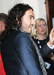 Russell Brand, GQ Men of the Year Awards, Royal Opera House, London UK, 03 September 2013, (Photo by Richard Goldschmidt)