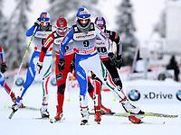 Langrenn  , 28. november 2010 , WC  Kuusamo<br /> Opening, 10km Verfolgung, Damen. Bild zeigt Marianna Longa (ITA), Vibeke Skofterud (NOR), Arianna Follis (ITA) und Nicole Fessel (GER).<br /> <br /> Norway only