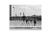 L'impianto siderurgico ex Ilva.  Taranto 6 Aprile 2020. Christian Mantuano / OneShot
