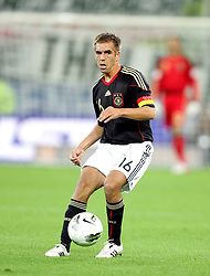 06.09.2011, PGE Arena, Danzig, POL, FSP, Polen vs Deutschland, im Bild PHILIPP LAHM NIEMCY// during the international frindly football game between Poland and Germany at PGE Arena Gdansk Poland on 2011-09-06. EXPA Pictures © 2011, PhotoCredit: EXPA/ Newspix/ Michal Novak +++++ ATTENTION - FOR AUSTRIA/(AUT), SLOVENIA/(SLO), SERBIA/(SRB), CROATIA/(CRO), SWISS/(SUI) and SWEDEN/(SWE) CLIENT ONLY +++++