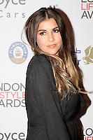Imogen Thomas, London Lifestyle Awards, Lancaster London Hotel UK, 03 October 2016, Photo by Richard Goldschmidt