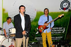 Coquetel de abertura do XIII Aberto do Belém Novo Golf Club.  FOTO: Itamar Aguiar / Preview.com