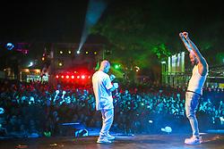 Poesia Acustica durante a 25ª edição do Planeta Atlântida. O maior festival de música do Sul do Brasil ocorre nos dias 31 Janeiro e 01 de fevereiro, na SABA, praia de Atlântida, no Litoral Norte do Rio Grande do Sul. FOTO: <br /> André feltes/ Agência Preview
