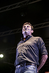 July 1, 2018 - Italy - The Roman comedian Max Giusti has performed at the Galleria Porta di Roma between music and comedy. (Credit Image: © Daniela Franceschelli/Pacific Press via ZUMA Wire)