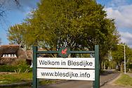 25-04-2020: Blesdijke, Weststellingwerf - Welkomstbord