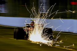 September 14, 2018 - Singapore, Singapore - Motorsports: FIA Formula One World Championship 2018, Grand Prix of Singapore, .#16 Charles Leclerc (MCO, Alfa Romeo Sauber F1 Team) (Credit Image: © Hoch Zwei via ZUMA Wire)