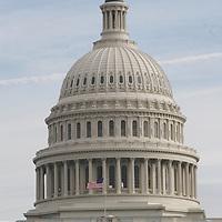 The United States Capitol Building rotunda in Washington, D.C.