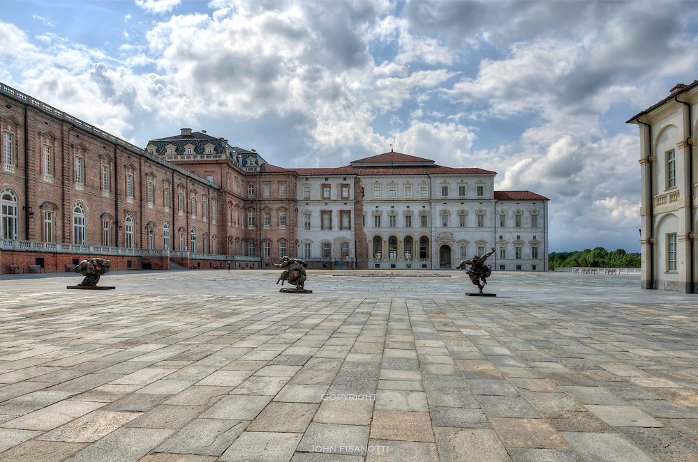 La Venaria Reale, Torino Italy, the royal palace of the house of Savoy