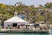 Port in Dunmore Town, Harbour Island, The Bahamas.