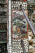 Mosaic by artist Miro Luketina, Makarska, Croatia.