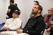 DALLAS, TX - MARCH 14:  Matt Brown watches the fights backstage before his fight against Johny Hendricks during UFC 185 at the American Airlines Center on March 14, 2015 in Dallas, Texas. (Photo by Cooper Neill/Zuffa LLC/Zuffa LLC via Getty Images) *** Local Caption *** Matt Brown