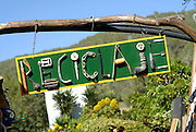 Varied pieces recovered and classified for recycling. A day at Greenheart´s La Casita Verde (the little green house) is a rapidly-evolving model ecological centre visited by around 5000 people each year. Ibiza, Spain