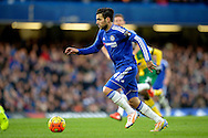 Cesc Fabregas of Chelsea in action. Barclays Premier league match, Chelsea v Norwich city at Stamford Bridge in London on Saturday 21st November 2015.<br /> pic by John Patrick Fletcher, Andrew Orchard sports photography.