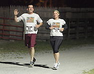 Augusta, New Jersey - Runners compete in 6-, 12-, 24- and 72-hour races during the 3 Days at the Fair races at Sussex County Fairgrounds on May 12, 2012.