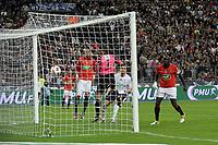 FOOTBALL - FRENCH CUP 2010/2011 - FINAL - PARIS SAINT GERMAIN v LILLE OSC - 14/05/2011 - PHOTO JEAN MARIE HERVIO / DPPI - GOAL LUDOVIC OBRANIAK (LOSC) / GREGORY COUPET (PSG)