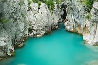 River Lepenjica<br /> Triglav National Park, Slovenia<br /> June 2009