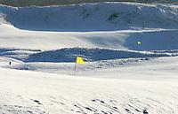 Noordwijkse GC in de sneeuw Hole 18 en 17