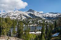 Eagle Cap seen from Moccasin Lake, Eagle Cap Wilderness Wallowa Mountains Oregon
