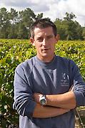 Pascal Lamarque, winemaker. Chateau Paloumey, Haut Medoc, Bordeaux, France.