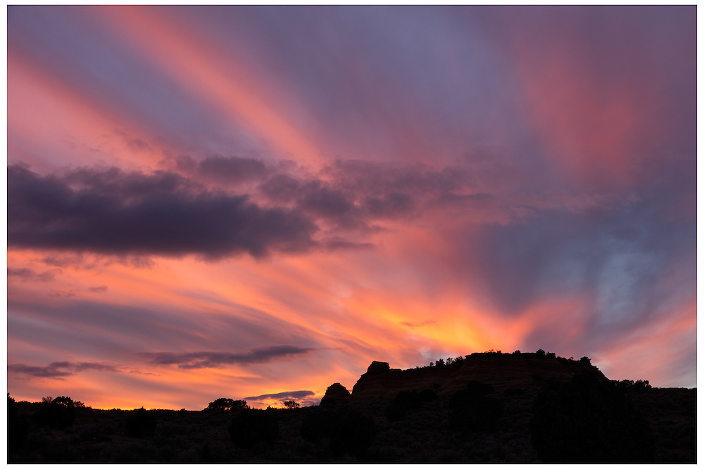 Coyote Buttes, AZ 11/5/2015<br /> Sunset, South Coyote Buttes<br /> Alex Jones / www.alexjonesphoto.com