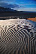 Sunrise over Colorado Sand Dunes National Monument