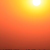 Africa, Kenya, Amboseli. Amboseli landscape at sunset.
