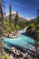 Marble Creek in Kootenay National Park