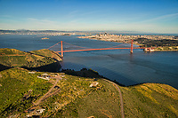 City of San Francisco from Marin Headlands