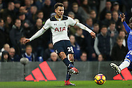 Dele Alli of Tottenham Hotspur in action. Premier league match, Chelsea v Tottenham Hotspur at Stamford Bridge in London on Saturday 26th November 2016.<br /> pic by John Patrick Fletcher, Andrew Orchard sports photography.