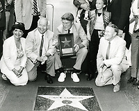 1984 Chuck Connors' Walk of Fame ceremony.